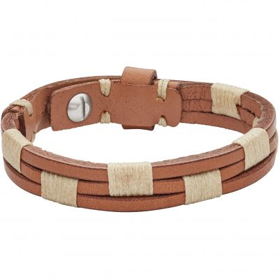 Biżuteria Fossil Jewellery & Leather Bracelet JA6881040