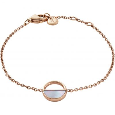 Ladies Skagen Rose Gold Plated Elin Mother Of Pearl Bracelet SKJ0999791