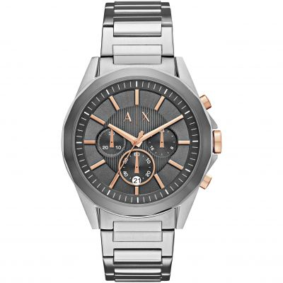 Armani Exchange Herrenuhr in Silber AX2606