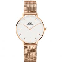 Ladies Daniel Wellington Classic Petite Melrose Watch DW00100163