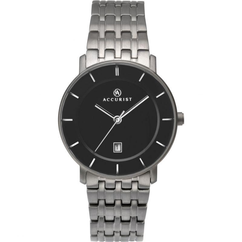 Ladies Accurist London Titanium Watch