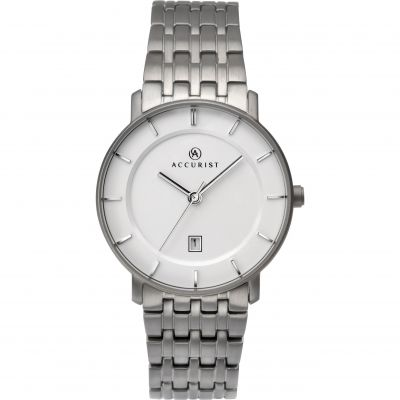 Ladies Accurist London Titanium Watch 8173