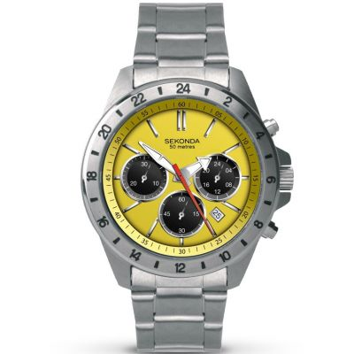 Mens Sekonda Chronograph Watch 1143