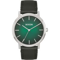 Mens Nixon The Porter Leather Watch A1058-2696
