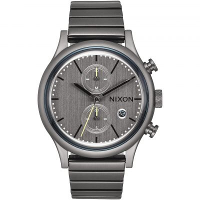 Nixon The Station Chrono Herrkronograf Grå A1162-632