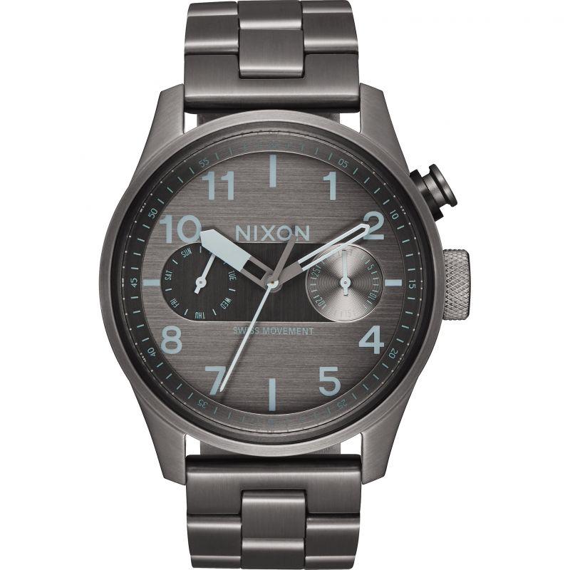 Mens Nixon The Safari Deluxe Watch
