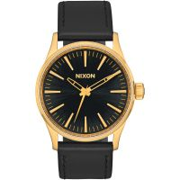 Unisex Nixon The Sentry 38 Leather Watch