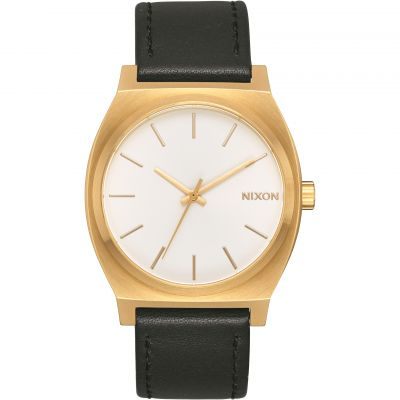 Nixon The Time Teller Unisexuhr in Schwarz A045-2667