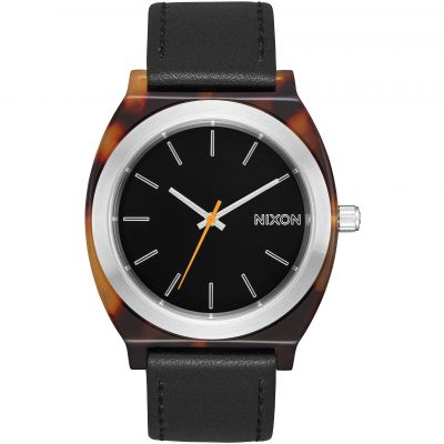 Nixon The Time Teller Acetate Damenuhr in Schwarz A327-2699