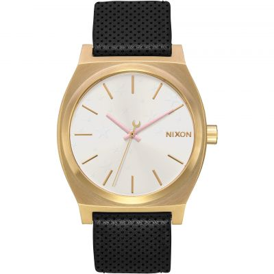 Ladies Nixon The Medium Time Teller Leather Watch A1172-2774