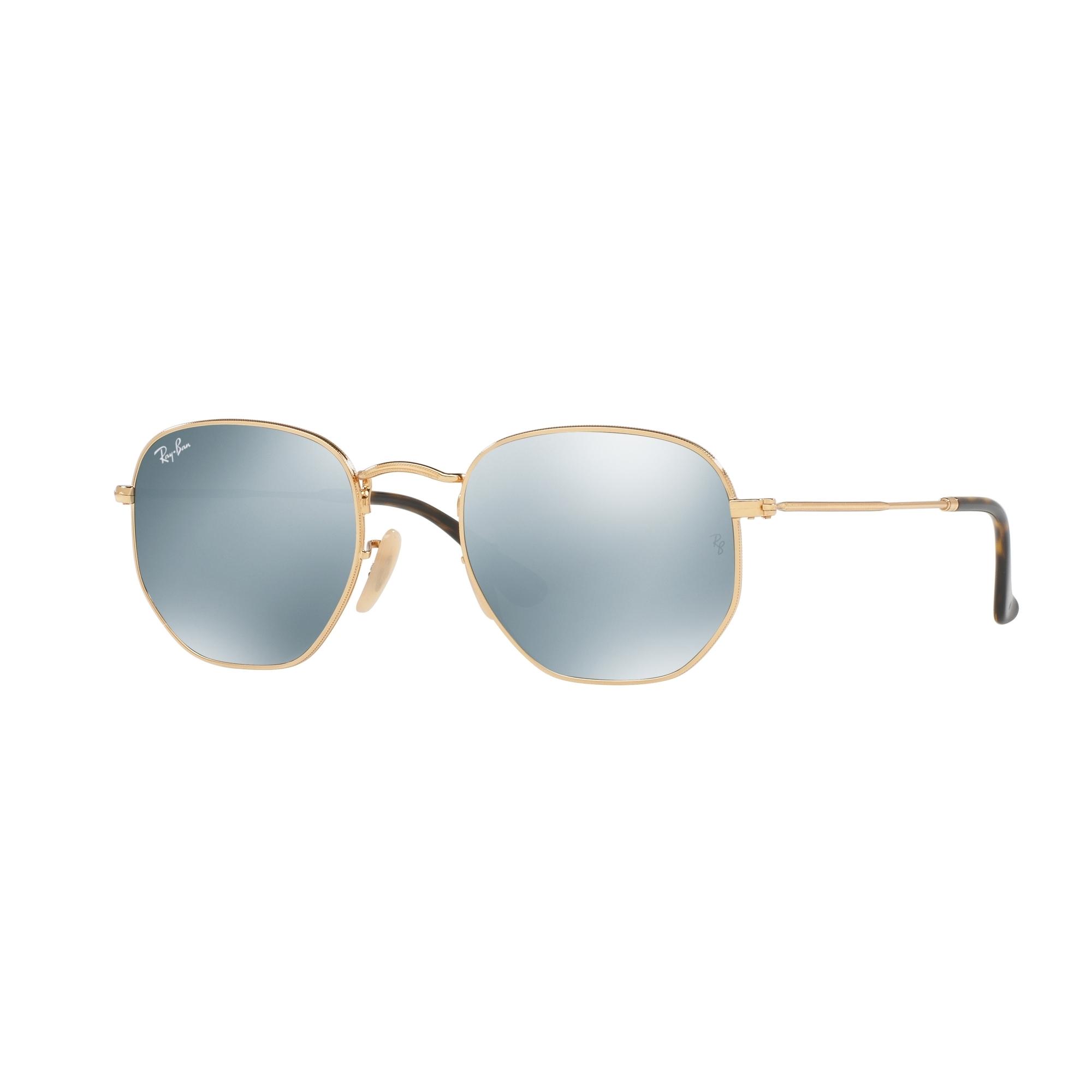 9a97ffee6079b Mens Ray-Ban Gold Plated Hexagonal Flat Lens Sunglasses RB3548N-001 30-51 -  WATCH SHOP.™   WatchShop.com™