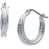Nine West Jewellery Hoop Earrings JEWEL