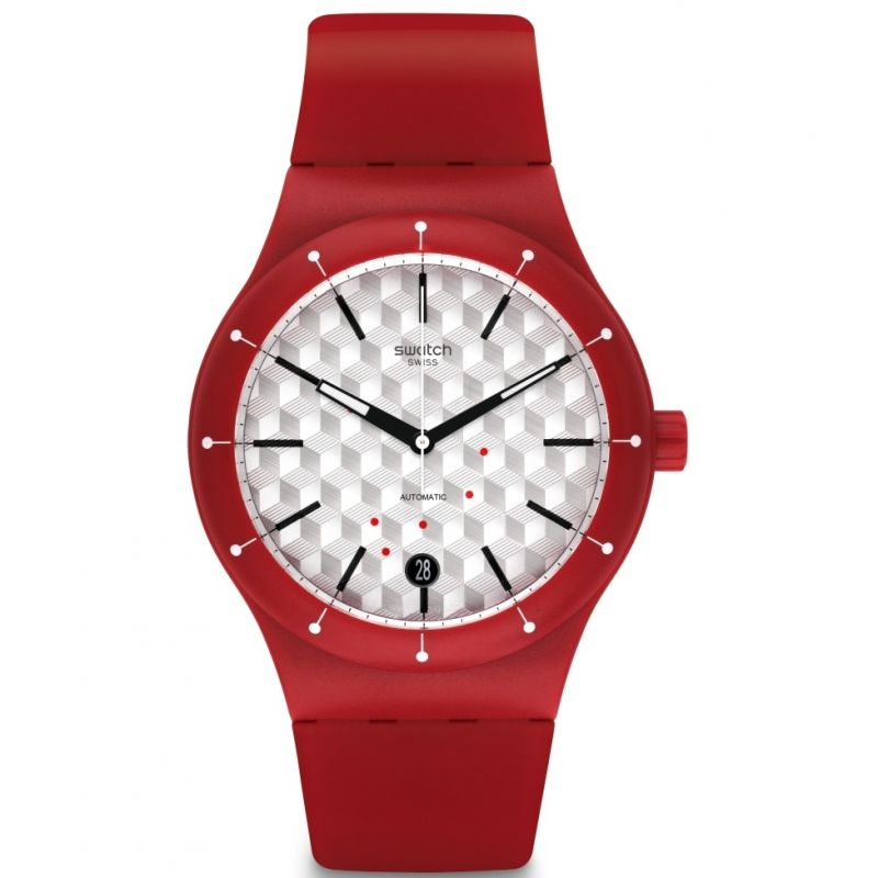Mens Swatch Sistem Corrida Automatic Watch