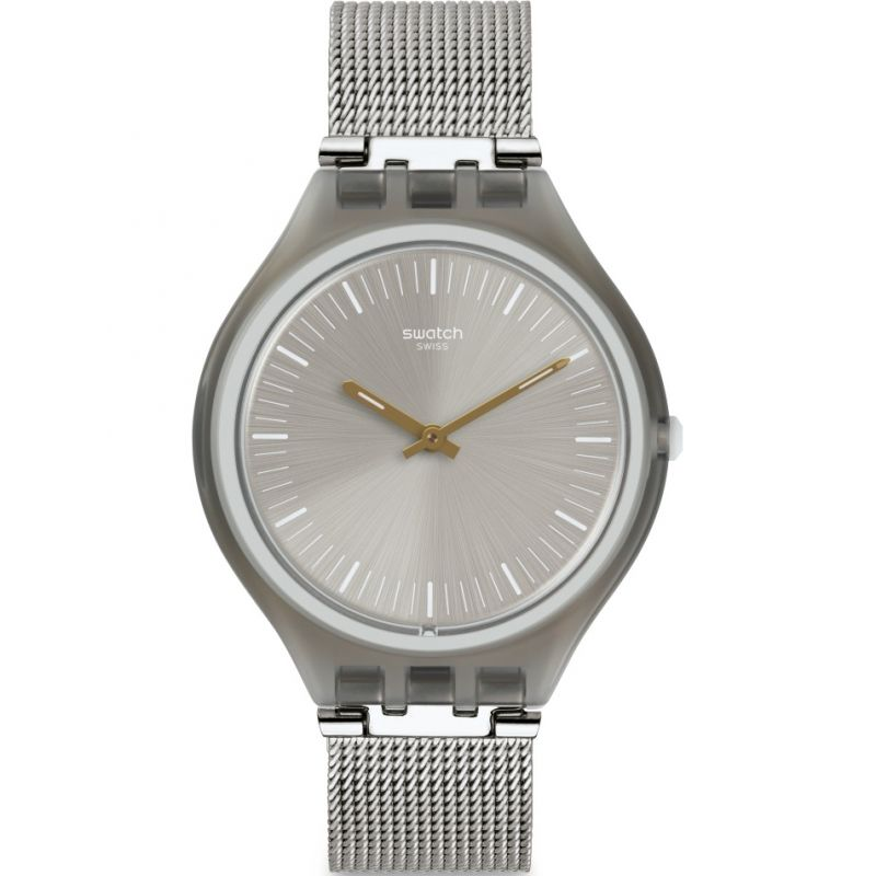 Unisex Swatch Skinmesh Watch SVOM100M