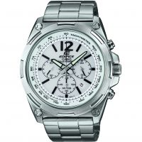 Mens Casio Edifice Chronograph Solar Powered Watch EFR-545SBD-7BVER