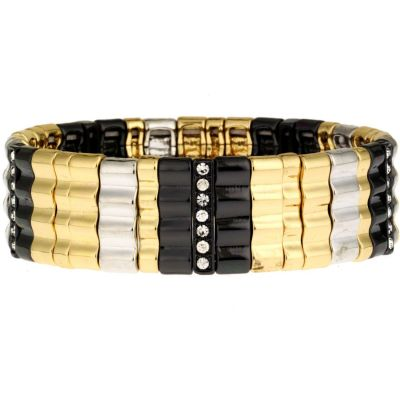 Wide Strch Bracelet 60200114-Z01