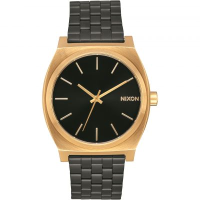 Nixon The Time Teller Unisexklocka Svart A045-1604