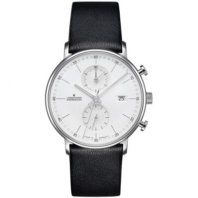 Junghans FORM C Chronoscope Herrenchronograph in Schwarz 041/4770.00