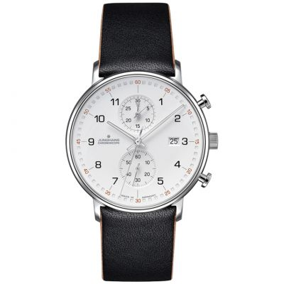Junghans FORM C Chronoscope Herrenchronograph in Schwarz 041/4771.00