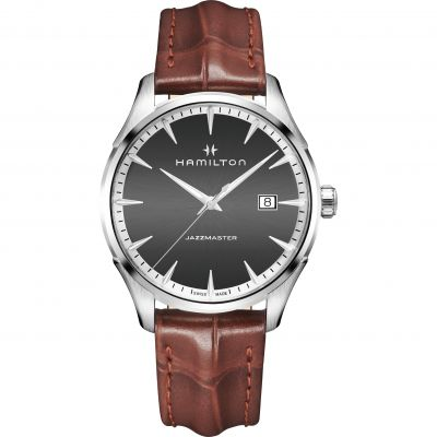 Hamilton Jazzmaster Gents 40mm Herrenuhr in Braun H32451581