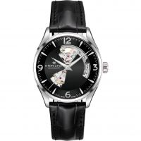 Mens Hamilton Jazzmaster Open Heart Automatic Watch H32705731