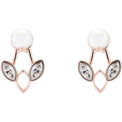 Ladies Ted Baker Rose Gold Plated Navii Earrings TBJ1416-24-243