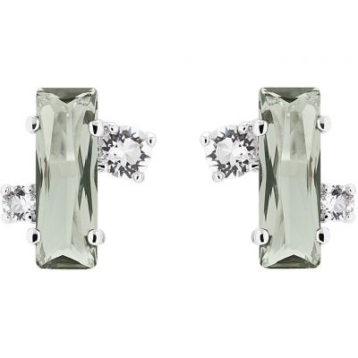 Ladies Ted Baker Silver Plated Bria Stud Earrings TBJ1391-01-88