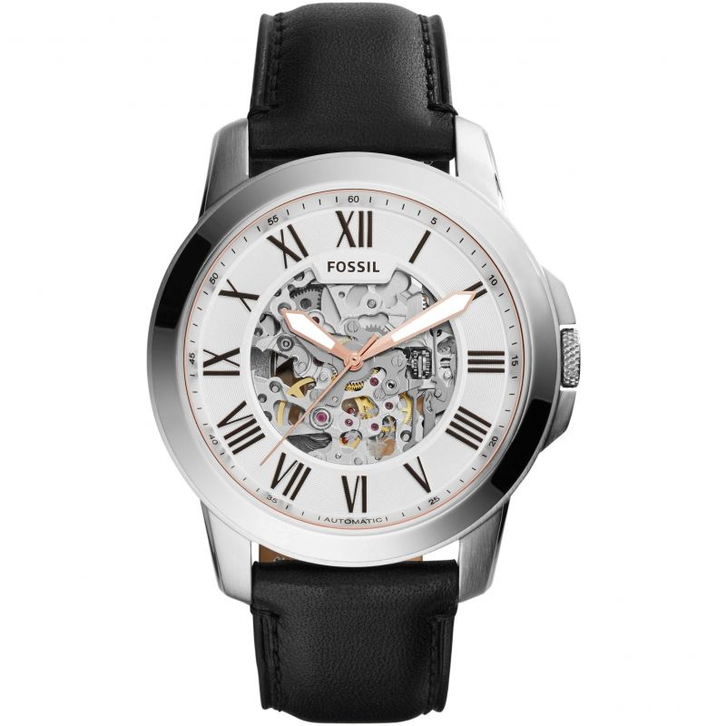 Mens Fossil Grant Skeleton Watch ME3101