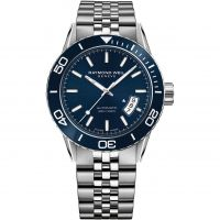 Mens Raymond Weil Freelancer Diver Automatic Watch 2760-ST3-50001