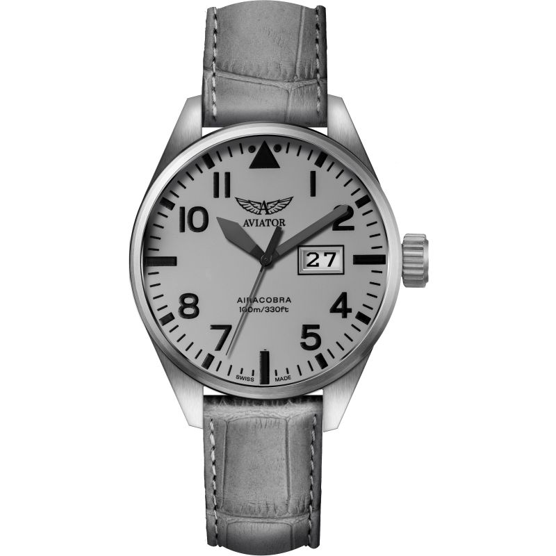 Mens Aviator Airacobra P42 Watch V.1.22.0.150.4