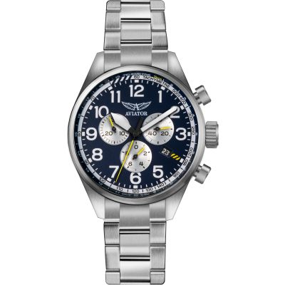 Mens Aviator Airacobra P45 Chronograph Watch V.2.25.0.170.5
