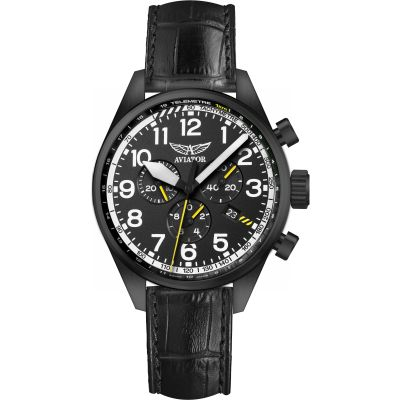 Mens Aviator Airacobra P45 Chronograph Watch V.2.25.5.169.4