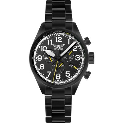 Mens Aviator Airacobra P45 Chronograph Watch V.2.25.5.169.5