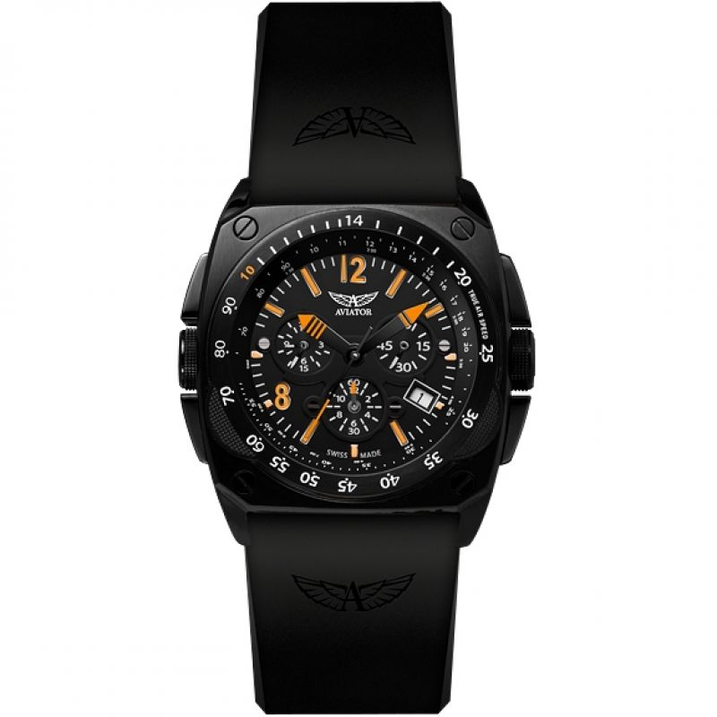 Mens Aviator MiG-29 Chronograph Watch