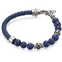 Fred Bennett & Blue Bead Bracelet JEWEL