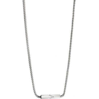 Mens Fred Bennett Stainless Steel Necklace N4024
