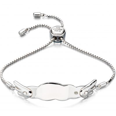 Bijoux Enfant D For Diamond ID Bracelet B4877