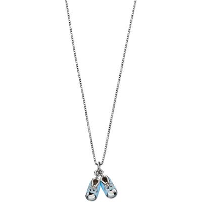 Bijoux Enfant D For Diamond Blue Bootie Collier P4441