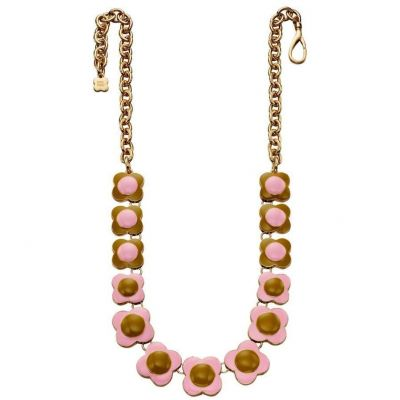 Ladies Orla Kiely Gold Plated Necklace N4124