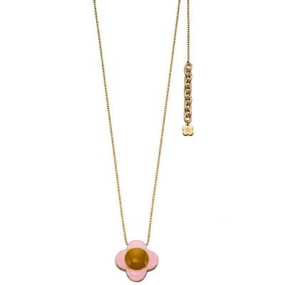 Ladies Orla Kiely Gold Plated Necklace N4125