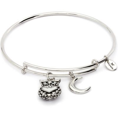 Ladies Chrysalis Base metal NATURE OWL EXPANDABLE BANGLE CRBT2006SP