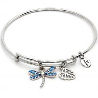 Ladies Chrysalis Base metal NATURE DRAGONFLY EXPANDABLE BANGLE CRBT2007SP