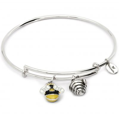 Ladies Chrysalis Base metal NATURE BUMBLE BEE EXPANDABLE BANGLE CRBT2010SP
