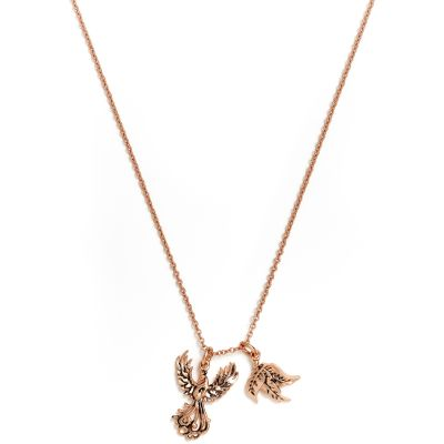 Ladies Chrysalis PVD rose plating CHARMED PHOENIX NECKLACE CRNT0202RG