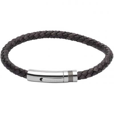 Biżuteria męska Unique & Co & Leather Bracelet B345ABL/21CM