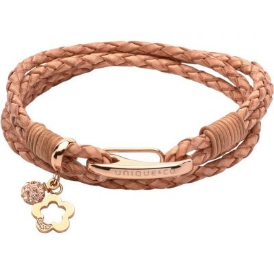 Biżuteria damska Unique & Co & Leather Bracelet B368NA/19CM