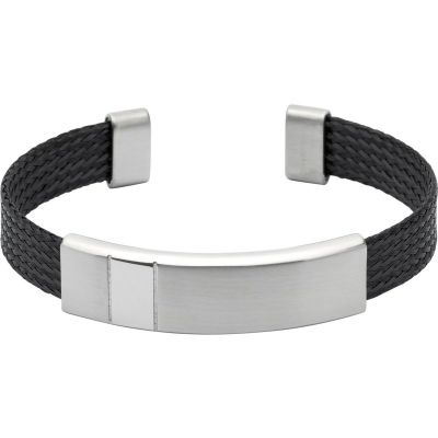 Mens Unique & Co Stainless Steel Bangle QB-93
