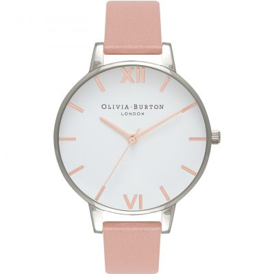 Montre Femme Olivia Burton Enchanted Garden Rose Gold & Dusty Pink OB16BDW26