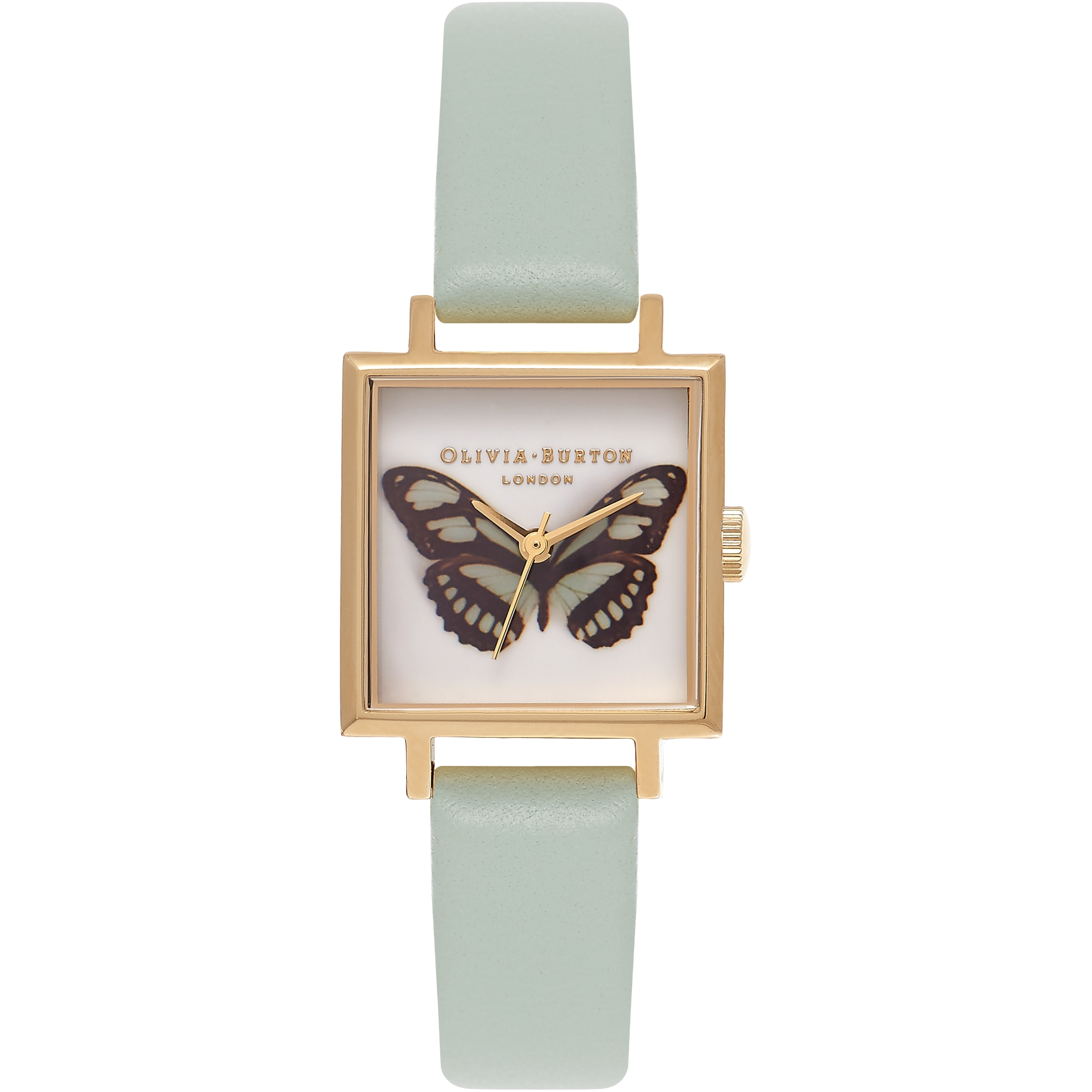 ladies diamond so michele versatile butterfly stainless pin sold watch fleur sapphire watches steel