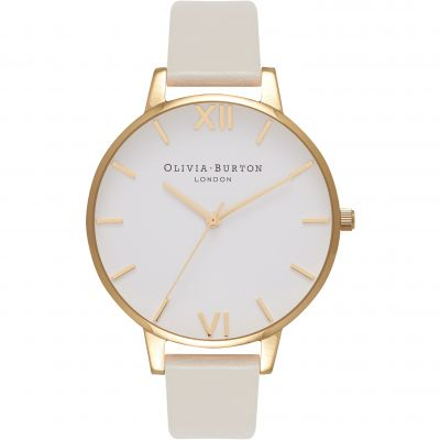 Vegan Friendly Gold & Nude Watch